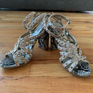 Sam Edelman Studded Heeled Sandals